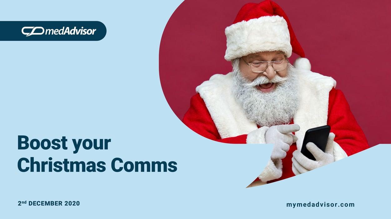 Xmas Comms Webinar